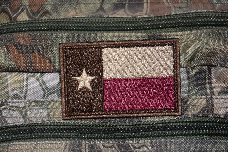 Patch flag US TEXAS drapeau Américain USA avec scratch au dos