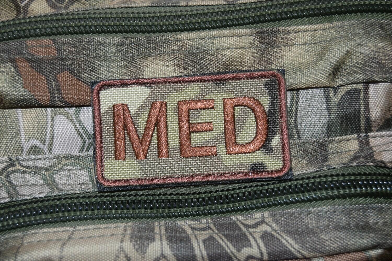 Patch US MEDIC MED avec scratch au dos