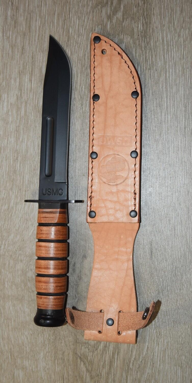 Couteau REPRO WW2 2ème Guerre Mondiale KA-BAR USMC