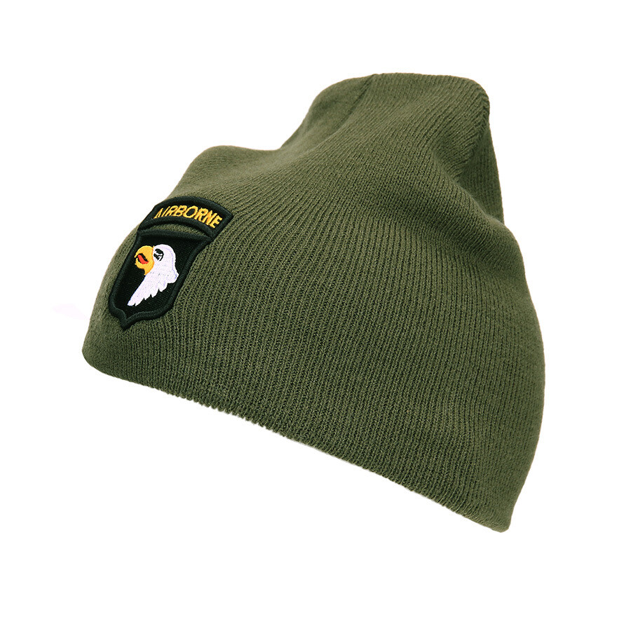 Bonnet kaki 101st Airborne Division Screaming Eagles