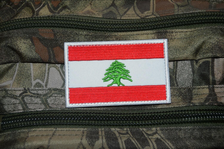 Patch drapeau cèdre du Liban Beyrouth