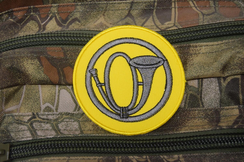 Patch représentant l'insigne de béret des Chasseurs Alpin