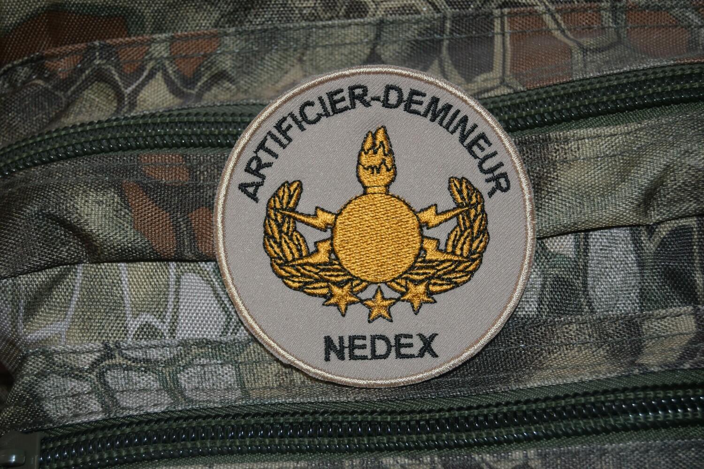 Patch ARTIFICIER DÉMINEUR NEDEX
