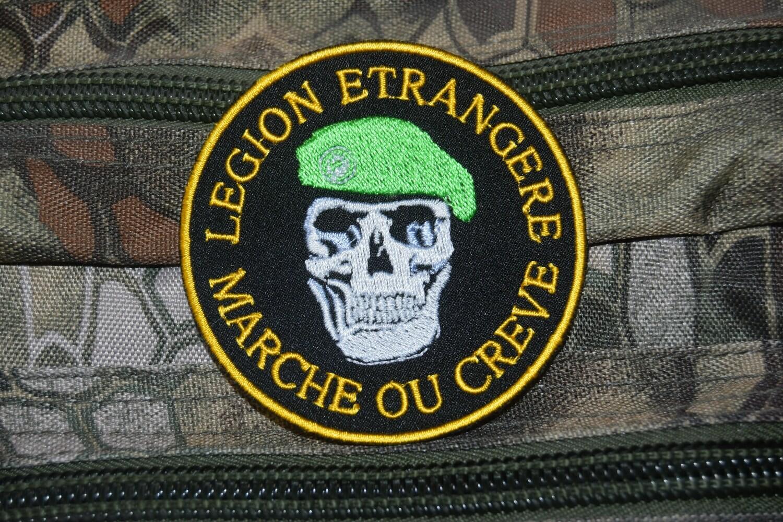 Patch Légion étrangère marche ou crève