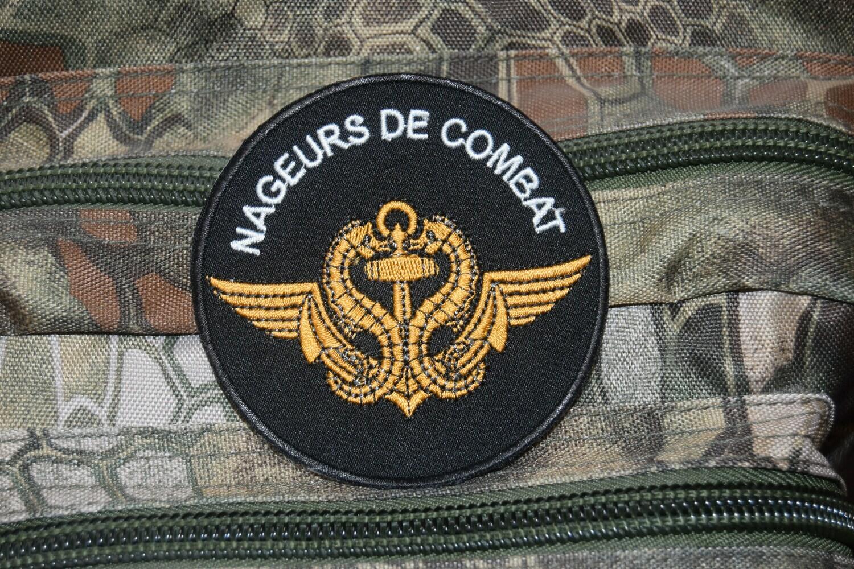 Patch militaire Nageurs de Combat Armée Française