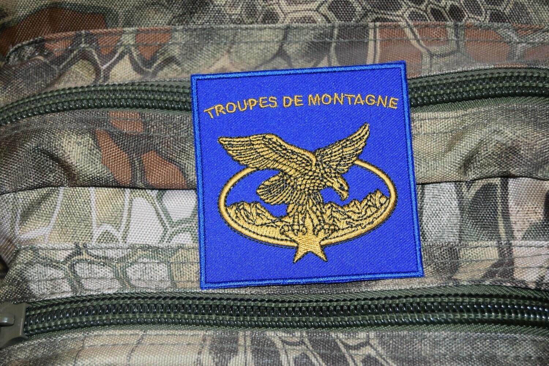 Patch militaire Troupes de Montagne