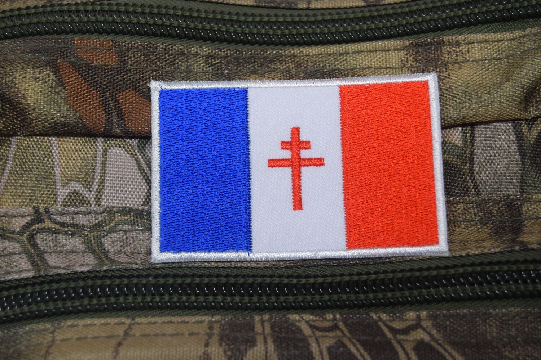 Patch drapeau France Libre FFI WW2 Forces françaises de l'intérieur