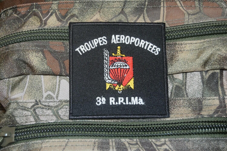 Patch Troupes Aéroportées 3e Régiment Parachutiste d'Infanterie de Marine RPIMa