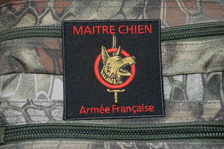 Patch CYNO Maître Chien Armée Française
