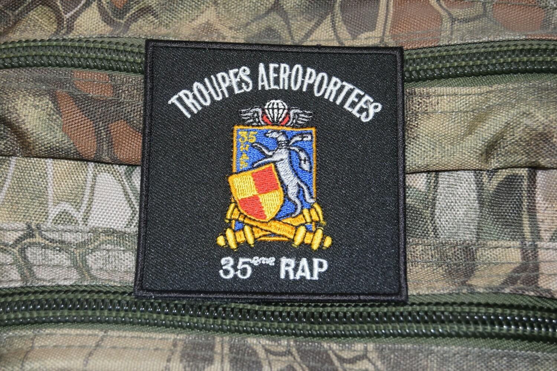 Patch Troupes Aéroportées 35e RAP Régiment d'Artillerie Parachutiste