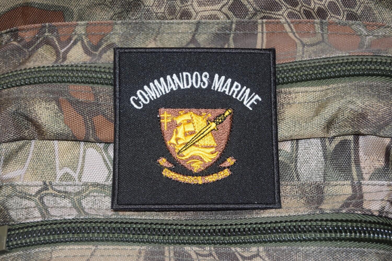 Patch Commandos Marine CHAUVET