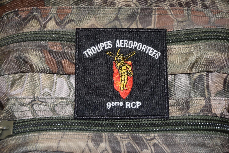 Patch Troupes Aéroportées 9e Régiment Chasseur Parachutiste 9e RCP
