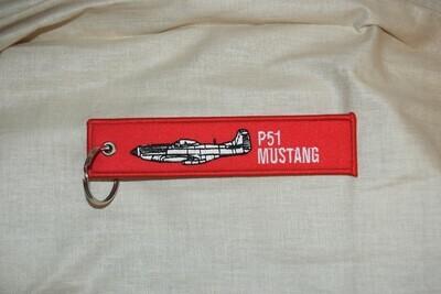 Porte clé avion MUSTANG