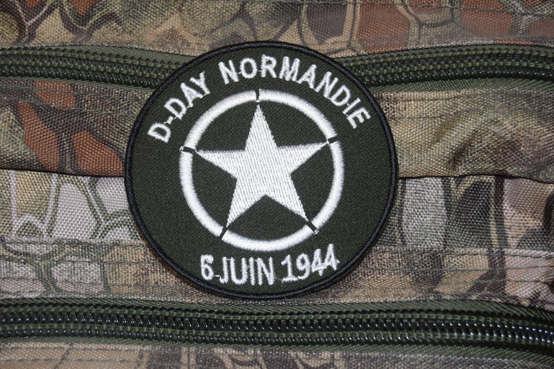 Patch D-Day Normandie 6 Juin 1944 étoile Jeep