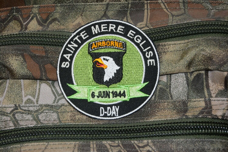 Patch D-Day Sainte Mère Église 6 Juin 1944 101e Airborne Division