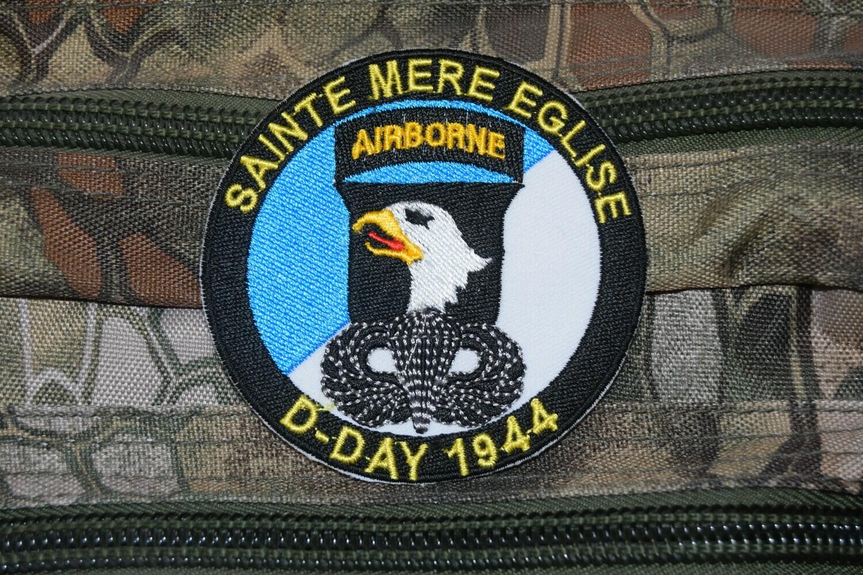 Patch D-Day 1944 Sainte Mère Église 101e Airborne Division
