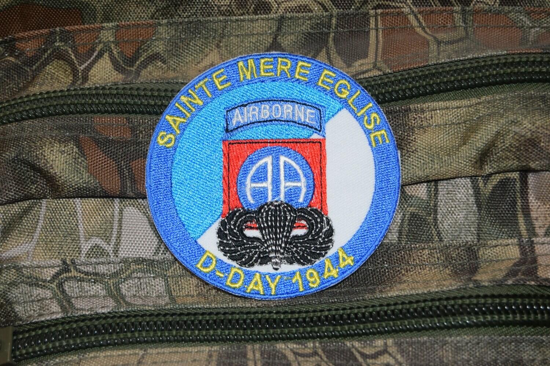 Patch D-Day 1944 Sainte Mère Église 82e Airborne Division