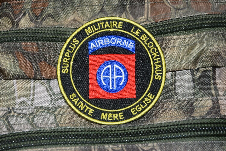 Patch Surplus Militaire LE BLOCKHAUS à Sainte Mère Église