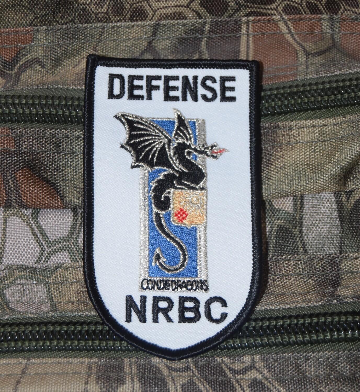 Patch militaire NRBC Nucléaires, Radiologiques, Biologiques, Chimiques