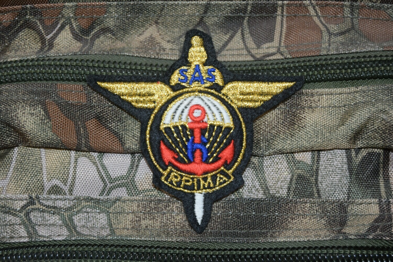 Patch Troupes Aéroportées 6e Régiment Parachutiste d'Infanterie de Marine RPIMa SAS