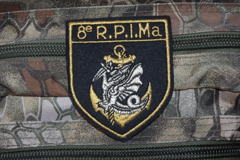 Patch Troupes Aéroportées 8e Régiment Parachutiste d'Infanterie de Marine RPIMa