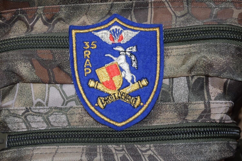 Patch 35e RAP Régiment d'Artillerie Parachutiste