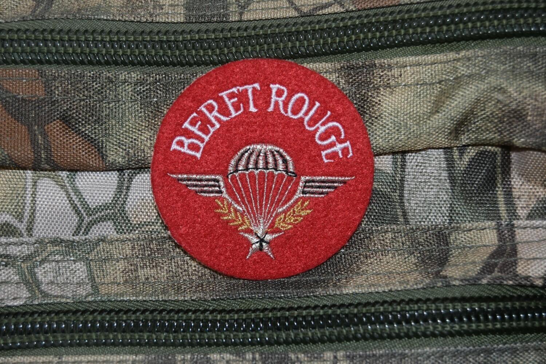 Patch brevet Parachutiste Béret Rouge