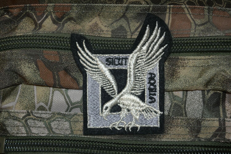 Patch Sicut Aquila Fusiliers Commandos de l'Air FUSCO