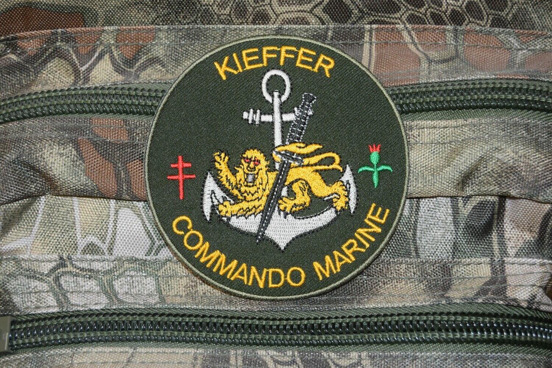 Patch militaire Commando Marine KIEFFER