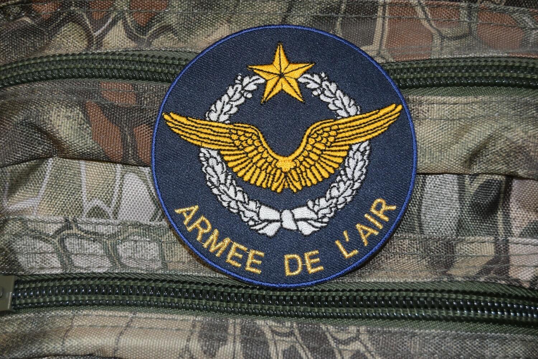 Patch militaire de l'Armée de l'Air Française brevet pilote