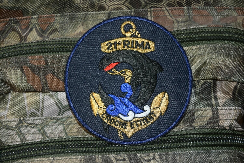 Patch militaire 21e RIMa Régiment d'Infanterie de Marine