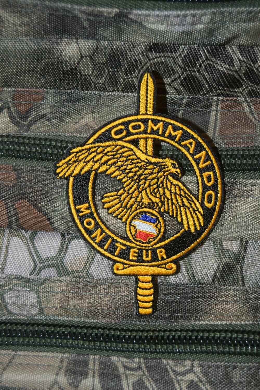 Patch militaire Commando Moniteur