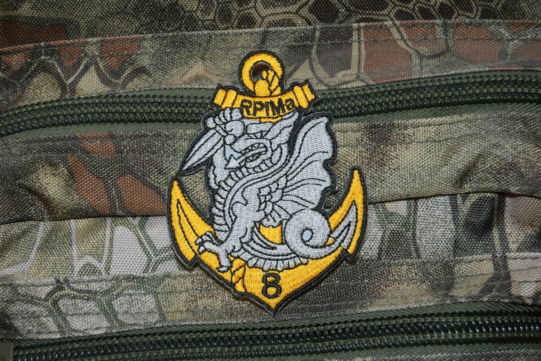 Patch militaire 8e RPIMa Régiment d'Infanterie de Marine