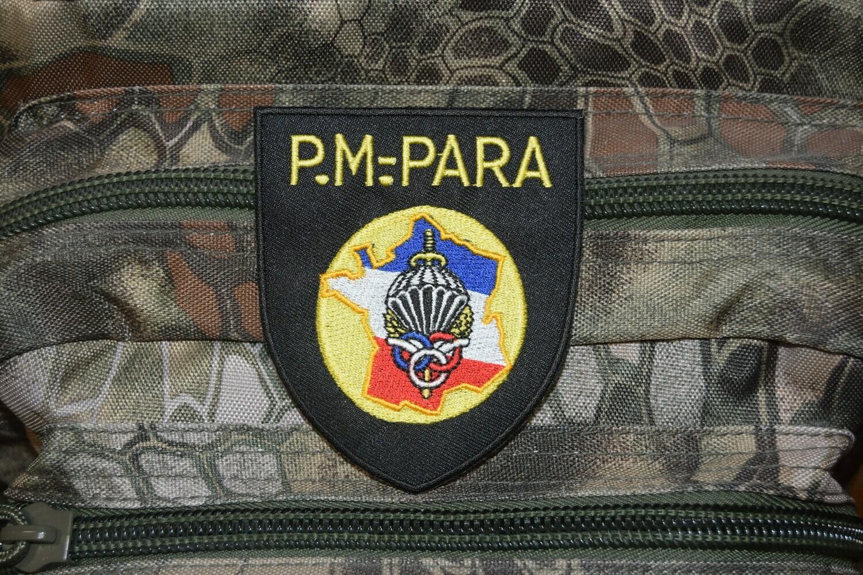 Patch P.M. PARA Préparation Militaire Parachutiste PMP