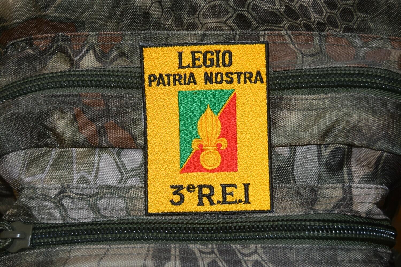 Patch militaire 3e Régiment étranger d'Infanterie 3e REI