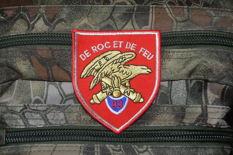 Patch militaire 93e Régiment d'Artillerie de Montagne 93e RAM