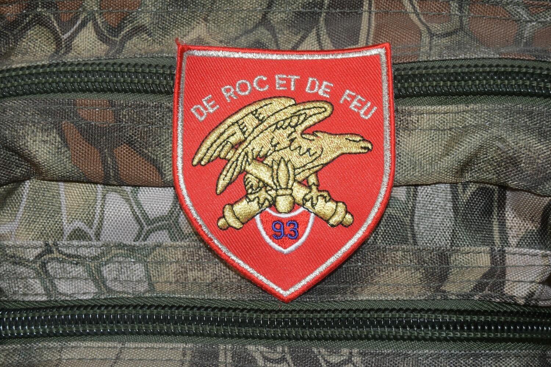 Patch 93e Régiment d'Artillerie de Montagne 93e RAM
