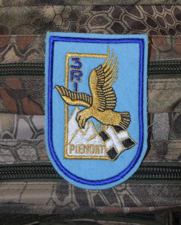Patch militaire 3e Régiment d'Infanterie Piémont