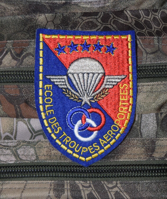Patch militaire école des Troupes Aéroportées ETAP