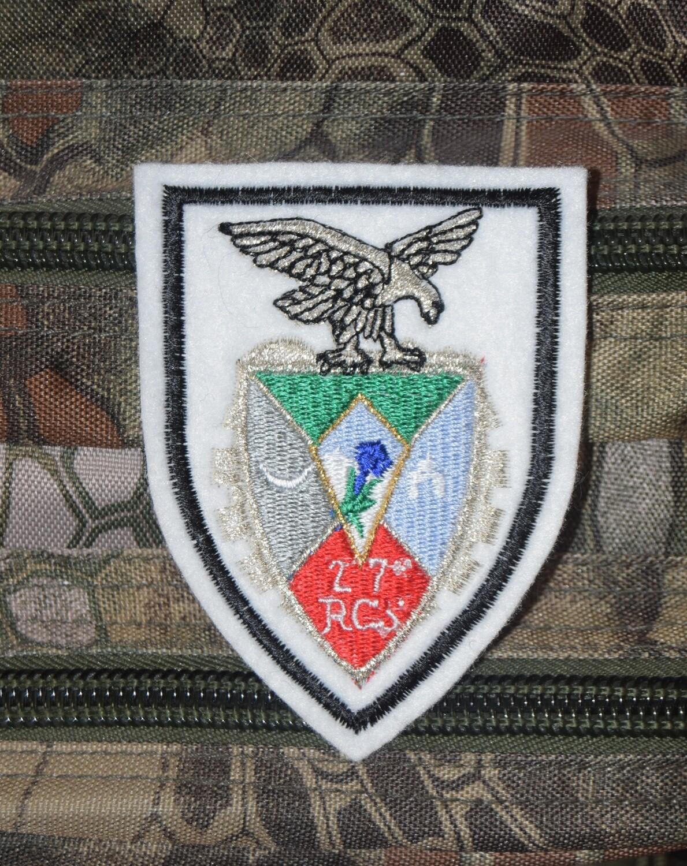 Patch militaire 27e RCS Régiment de Commandement et de Soutien