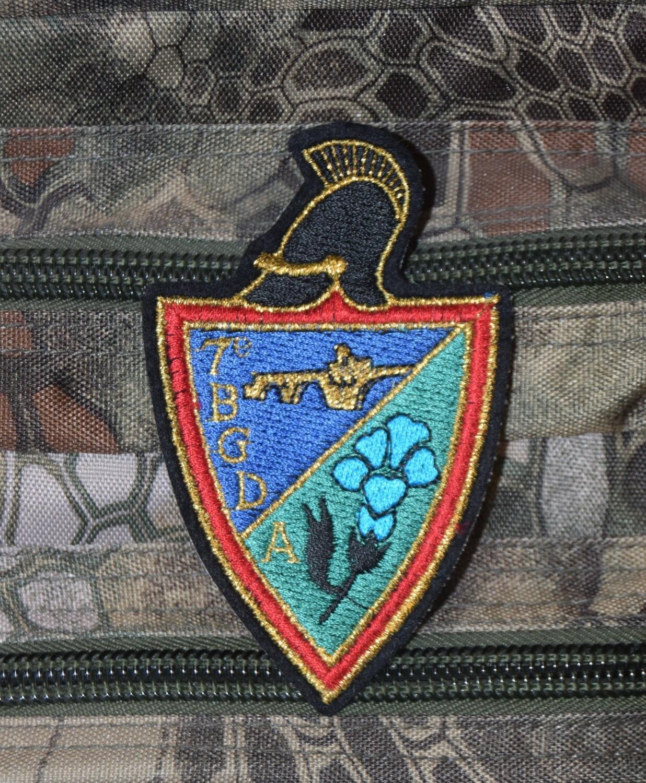 Patch militaire 7e Bataillon du Génie de la Division Alpine 7e BGDA