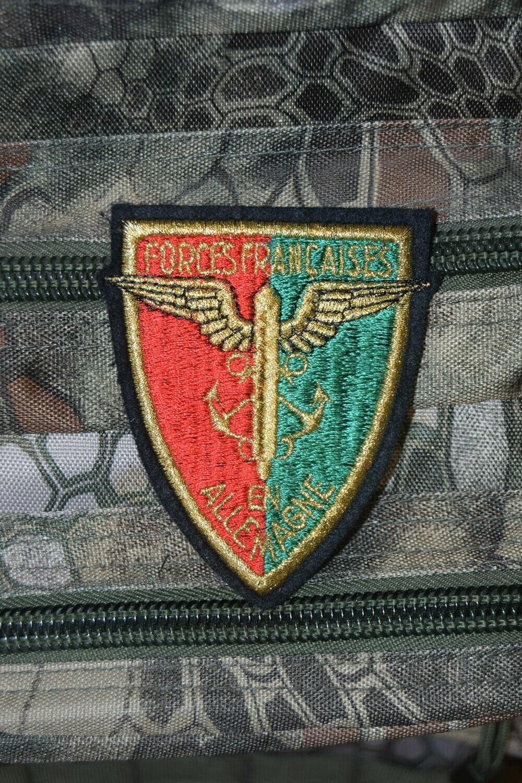 Patch militaire FFA Forces Françaises en Allemagne