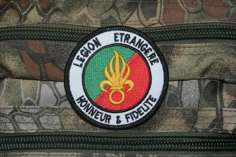 Patch militaire Légion étrangère Honneur et Fidélité