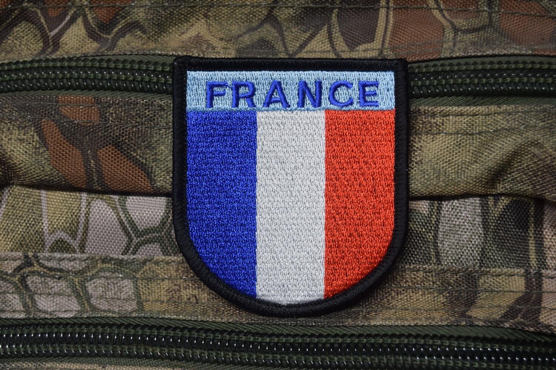 Patch drapeau Français OPEX Opérations Extérieures France