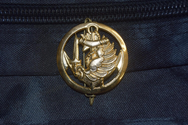 Insigne de béret militaire Parachutiste Colonial