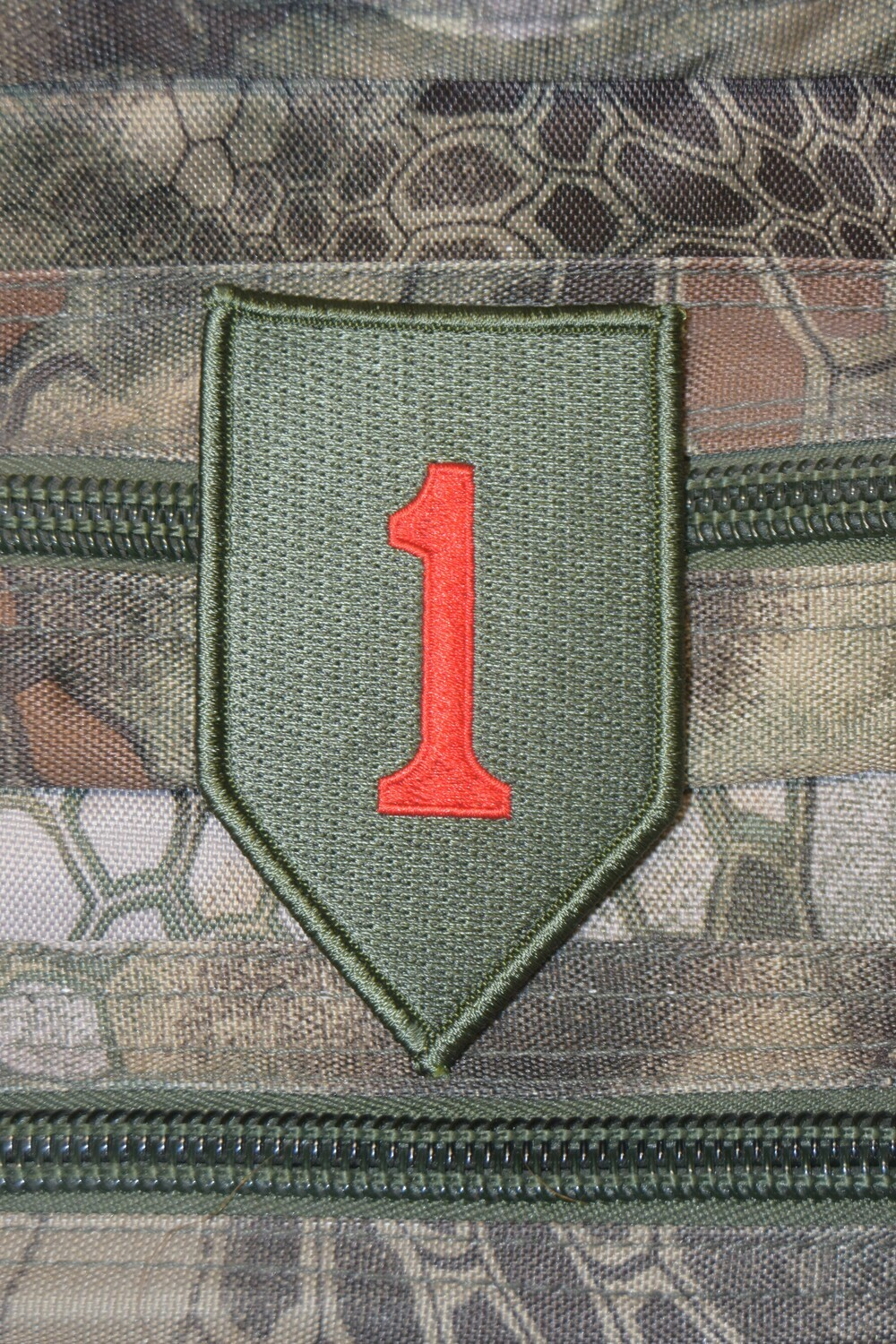 Patch The Big Red One 1st infantry Division américaine
