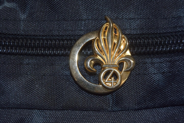 Insigne de béret militaire Légion 4e Régiment Étranger d'Infanterie