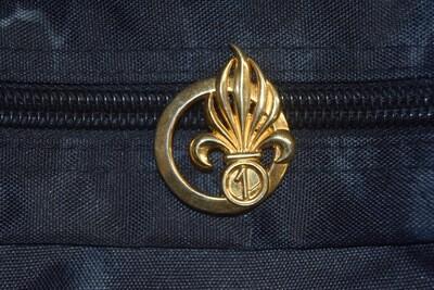 Insigne de béret Légion 1er Régiment Étranger d'Infanterie 1er REI
