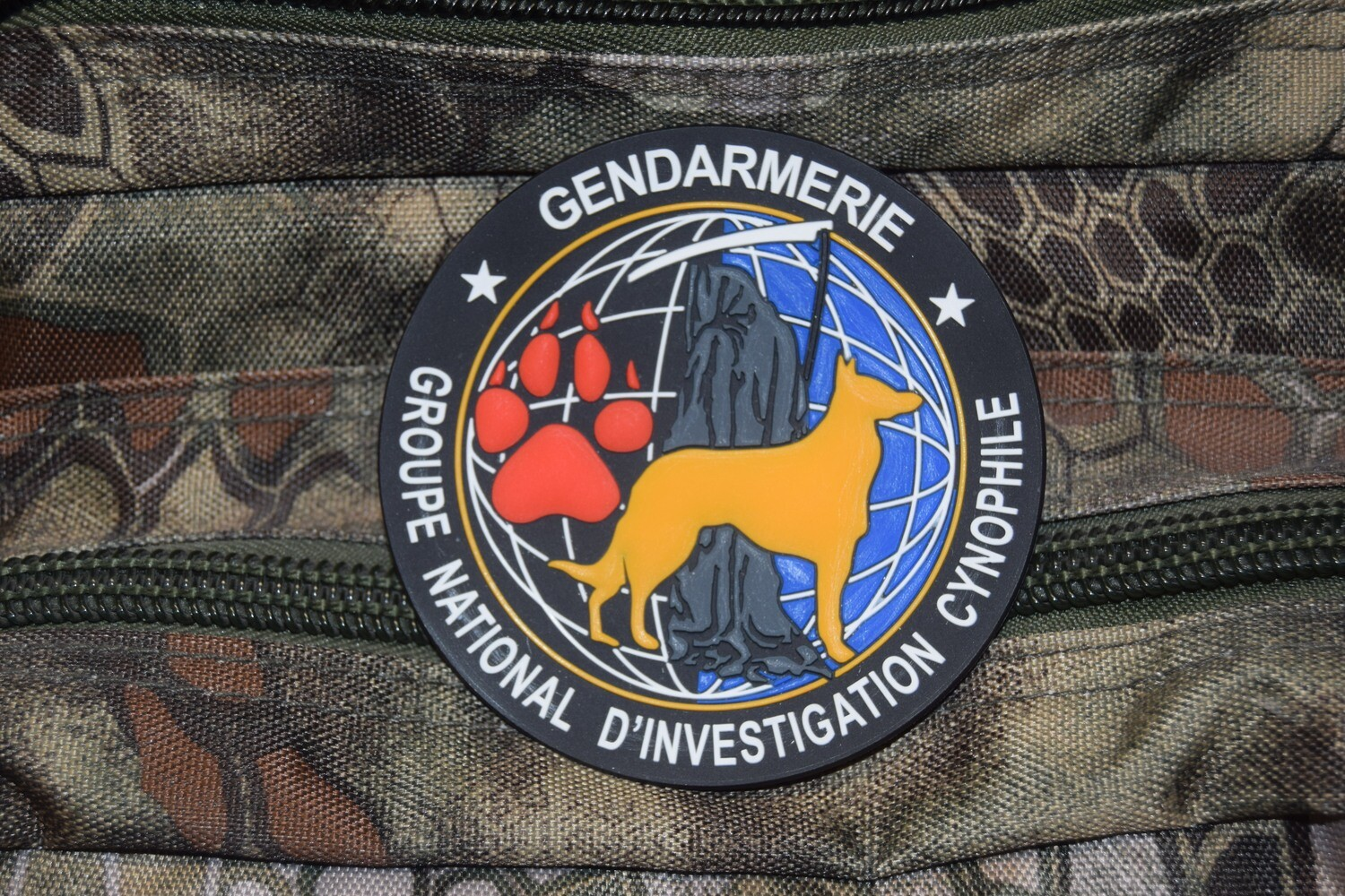 Patch Gendarmerie Groupe National d'Investigation Cynophile