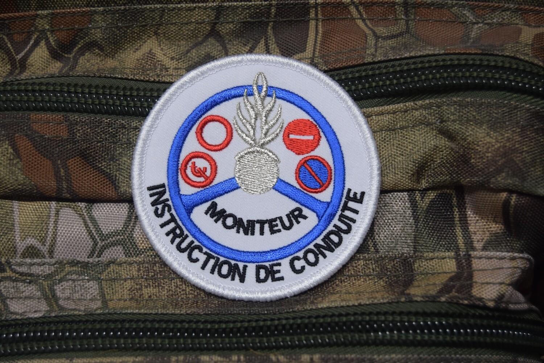 Patch Gendarmerie Moniteur Instruction de Conduite
